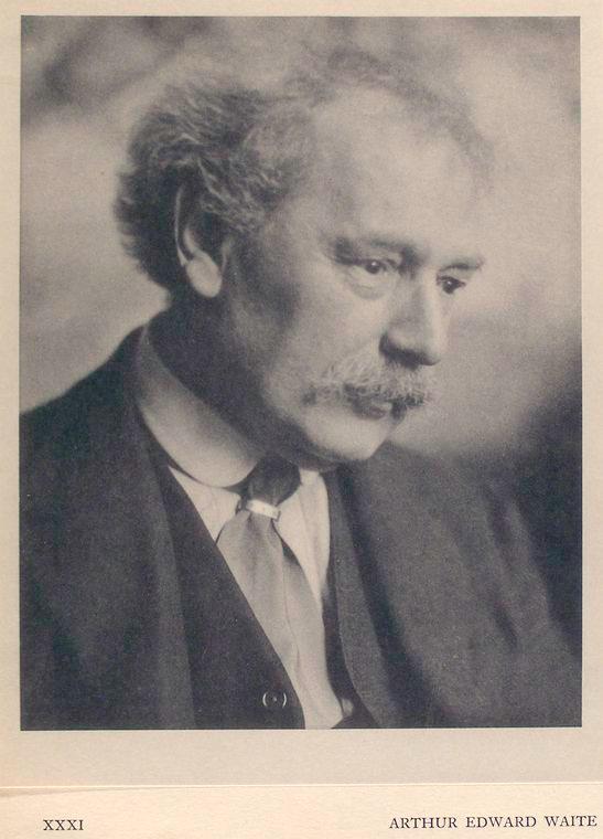 Портрет Артура Эдварда Уэйта в 1921 году, Лондон
