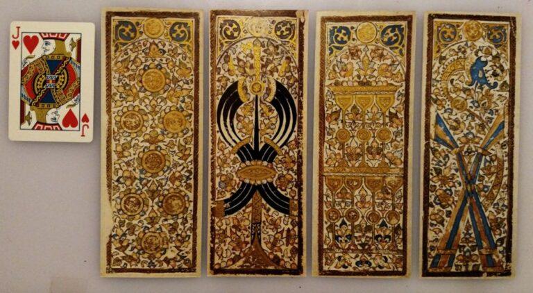 Сравнение старинных карт таро мамлюков и современной игральной карты
