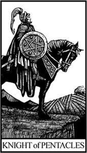 Рыцарь Пентаклей - младший Аркан Таро