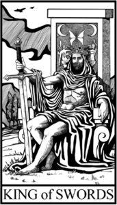 Король Мечей - младший Аркан Таро