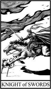 Рыцарь Мечей - младший Аркан Таро