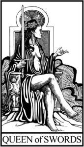 Королева Мечей - младший Аркан Таро
