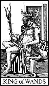 Король Жезлов - Малый Аркан Таро